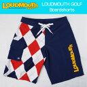 "[Sale]Loudmouth Board Shorts ""Dixie USA - Blue/Blue"" ラウドマウス メンズ ボードショーツ ""ディクシー USA - ブルー/ブルー""[新品]マリンスポーツ"