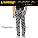 """[40%off]Loudmouth Pants Slim Cut """"Golfword Puzzle""""..."""