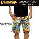 """[New]Loudmouth Slim Short Pants """"County Fare""""(ラウドマウス メンズ スリムショートパンツ """"カントリーフェア"""")[..."""
