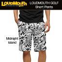 "[Sale]Loudmouth Regular Cut Short Pants ""Midnight Island"" (ラウドマウス メンズ レギュラーカットショ..."