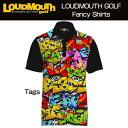 """【New】Loudmouth Fancy Shirt """"Tags"""" ラウドマウス ファンシーシャツ """"タグス""""【新品】メンズ ポロシャツ ゴルフウェアトップス"""