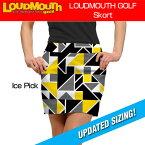 """【レディース】Loudmouth Skort """"Ice Pick""""(ラウドマウス スコート """"アイスピック"""")【新品】レディス女性ゴルフウェアスカートボトムス"""