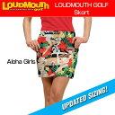 """[New][レディース]Loudmouth Skort """"Aloha Girls""""(ラウドマウス スコート """"アロハガールズ"""")[新品]レディス女性ゴルフウェア..."""