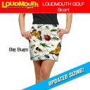 """[New][レディース]Loudmouth Skort """"Big Bugs""""(ラウドマウス スコート """"ビッグバグズ"""") [新品]レディス女性ゴルフウェアスカートボトムス"""