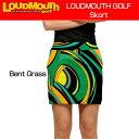 """【Sale】【レディース】Loudmouth Skort """"Bent Grass""""(ラウドマウス スコート """"ベントグラス"""")【新品】レディス女性ゴルフウェアスカー.."""