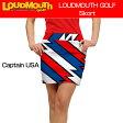 """【Sale】【レディース】Loudmouth Skort """"Captain USA""""(ラウドマウス スコート """"キャプテンUSA..."""