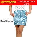 """【Sale】【レディース】Loudmouth Skort """"Hans & Fronds""""(ラウドマウス スコート """"ハンス&フロンズ"""") 【新品】レディス女性ゴルフウ.."""