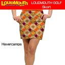 """【Sale】【レディース】Loudmouth Skort """"Havercamps""""(ラウドマウス スコート) ハーバーキャンプ 【新品】レディス女性ゴルフウェアス.."""