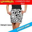 """【New】【レディース】Loudmouth Skort """"Midnight Island""""(ラウドマウス スコート """"ミッドナイトアイランド"""") 【新品】レディス女性ゴルフウェアスカートボトムス"""
