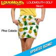 """【Newest】【レディース】Loudmouth Skort """"Pina Colada""""(ラウドマウス スコート """"ピナコラーダ"""") 【新品】レディス女性ゴルフウェアスカートボトムス【Ryo】"""