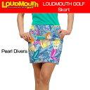 """[Sale][レディース]Loudmouth Skort """"Pearl Divers""""(ラウドマウス スコート """"パールダイバーズ"""") [新品]レディス女性ゴルフウェアスカ.."""
