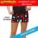 """[クーポン有][30%off][ラスワン00(XS)size][レディース]Loudmouth Mini Shorts """"Atom Smasher"""" (ラウドマウス ホットパンツ/ミニパンツ.."""