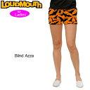 """【15%offクーポン有〜1/27】【メール便発送】レディース Loudmouth Mini Shorts """"Blind Azza"""" (ラウドマウス ホットパンツ/ミニパンツ .."""