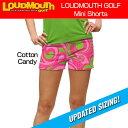 """[クーポン有][20%off][ラスワン00(XS)size][レディース]Loudmouth Mini Shorts """"Cotton Candy"""" (ラウドマウス ホットパンツ/ミニパンツ.."""