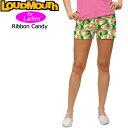 [クーポン有][30%off][レディース]ラウドマウス ホットパンツ/ミニパンツ(Ribbon Candy リボンキャンディ)[新品]17SSゴルフウェアLoudm..