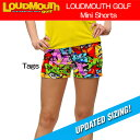 """【New】【レディース】Loudmouth Mini Shorts """"Tags"""" (ラウドマウス ホットパンツ/ミニパンツ """"タグス"""")【新品】レディス女性ショ..."""