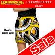 "【Sale】【レディース】Loudmouth Skort ""Swirls Gone Wild""(ラウドマウス スコート ""ワイルド""【新品】レディス女性ゴルフウェアスカートボトムス【Ryo】"
