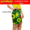 """[Sale][レディース]Loudmouth Skort """"Augusta Magic""""(ラウドマウス オーガスタマジック スコート) [新品]レディス女性ゴル..."""