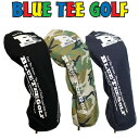 [クーポン有]ブルーティーゴルフ ポリキャンバス キャットハンド ヘッドカバー ドライバー用/フェアウェイ用/ユーティリティ用 全3色[新品]Blue Tee Golf