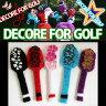 DECORE FOR GOLF(デコレフォーゴルフ) ドライバー用ヘッドカバー【フラワー】全5色 460cc対応【新品】