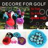 DECORE FOR GOLF(デコレフォーゴルフ) アイアン用ヘッドカバー【フラワー】全5色【新品】