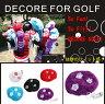 DECORE FOR GOLF(デコレフォーゴルフ) アイアン用ヘッドカバー【スーパーフラワー】全5色【新品】