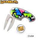 ラウドマウス グリーンフォーク&マーカー (ブロークングラス/クリスタル) Loudmouth Di...
