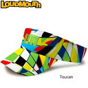 【キャップ・バイザーまとめ買い20%off】【20%off】ラウドマウス サンバイザー (Toucan トゥーキャン) 【新品】 Loudmouth ゴルフウェア キャップ メンズ レディース【VSR】