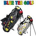 [クーポン有]ブルーティーゴルフ 2016 9型スマイル&72 スタンド キャディバッグ CB002[新品]Blue Tee Golf Californiaセルフスタンドバッグ