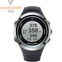 ボイスキャディ T2A ブラック GPSゴルフウォッチ 時計型【新品】Voice Caddie 音声型距離測定器ゴルフウォッチ Hybrid Golf Watch