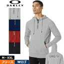 【25%off】オークリー メンズ パーカー 472418 【新品】18FW Oakley STREET LOGO HALF ZIP FLE...