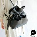 キャンディー巾着フェイクレザー3wayリュック/ショルダーバッグ【メール便不可】b0036
