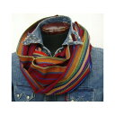 Hill-Side(ヒルサイド) [Selvedge Hand-Woven Multi Stripe Scarves] Made in New York City ストール/スカーフ!