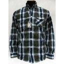 COLIMBO(コリンボ)[Richmond Boro Button Down Shirt/Madras Check]ボタンダウンシャツ/綿/麻/マドラスチェック/長袖シャツ/日本製!