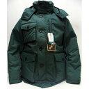 ZANTER(ザンター)[DOWN PARKA WP/Lot.6705-Green]Made in Japan 南極観測隊 ダウンパーカー ダウンジャケット 無地 プレーン アウター 日本製!