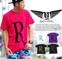 【メール便対応】RICH YUNG リッチヤング tシャツ メンズ 半袖 アメカジ カジュアル 【ストリート系 ファッション】