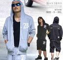 ブラックホーススウェットセットアップ ストリート ファッション