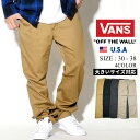 VANS バンズ チノパンツ メンズ ロング チノパン カジュアル アメカジ B系 ファッション ストリート系