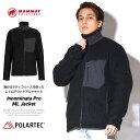 MAMMUT マムート ボアフリースジャケット メンズ Polartec Classic イノミナータプロMLジャケット 1014-01661