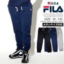 FILA フィラ スウェットパンツ メンズ ロングパンツ メンズ ハーフ 裏起毛 b系 ファッション ストリート アメカジ 大きいサイズ