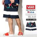 【メール便対応】VANS バンズ ボードショーツ 水着 メンズ 花柄 B系 ファッション ヒップホップ ストリート系 ファッション HIPHOP