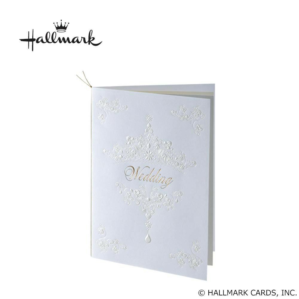 Hallmark ホールマーク ウエディングコレクション ホワイトティアラ 席次表セット 10名様用 EWD-543-051