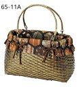 ショッピングbag 竹製和かごバッグ