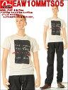 【送料無料】【EURO】EVISU JEANS【エヴィスジーンズ】MEN'S THE FREE THINGS TEE Tシャツ Lot EAW10EGTS149S05(ホワイト)【スリーラブ】