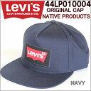 LEVI'S 44LP010004 ORIGINAL SNAPBACK CAP リーバイス オリジナル スナップバック キャップ NAVY/RED 帽子 バットウィング【LEVIS USA ..