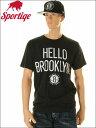 【レビューを書くと】【消費税無料】BROOKLYN NETS【ブルックリン ネッツ】BROOKLYN NETS TEE ブルックリン・ネッツ Tシャツ(ブラック)