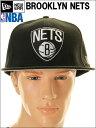 【レビューを書くと】【消費税無料】NEW ERA CAP【ニューエラ】BROOKLYN NETS【ブルックリン ネッツ】BROOKLYN NETS ブルックリン ネッツ キャップ(ブラック×ホワイト)