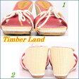 【送料無料】【靴】【ウェッジ サンダル ミュール】TimberLand WOMEN'S【ティンバーランドレディース】リミックス ノーティカル スライド キャンバスLOT 61688(レッドキャンバス) 1023max10