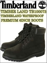 Timberland men's ティンバーランド Timber Land TB010073 テインバーランド 6インチ プレミアムブーツ 6INCH【テインバー ランド6インチ プレミアムブーツ Timber land TB010073 6IN PREM BT BLACK PREMIUM 6INCH BOOTS TIMBERLAND WATERPROOF】