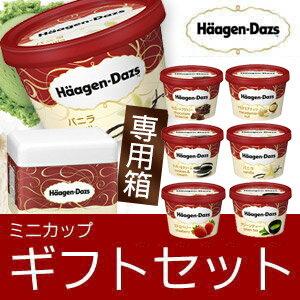 お歳暮 ギフト アイスクリーム ハーゲンダッツ アイスクリーム ギフト ミニカップ(110ml) おすすめ12個セット お礼 お返し 内祝い 出産祝い お祝